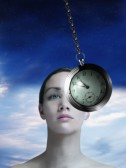 Hypnosis with pocket watch